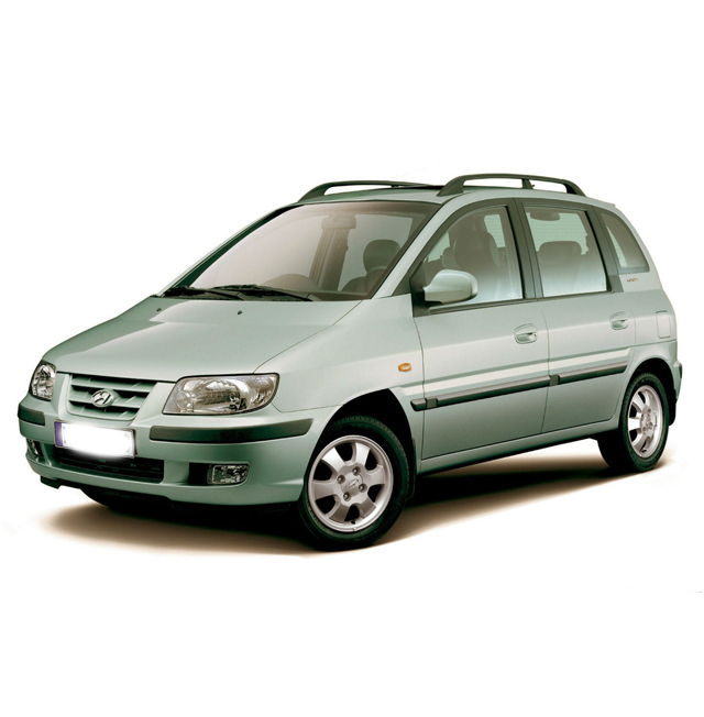 Дефлекторы окон HYUNDAI Matrix (Хендай-Матрикс) 2002-