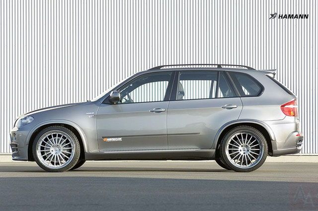 bmw x5 e70 hamann design