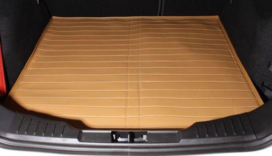Кожаные коврики в багажник (КОЖА LUX 3D)