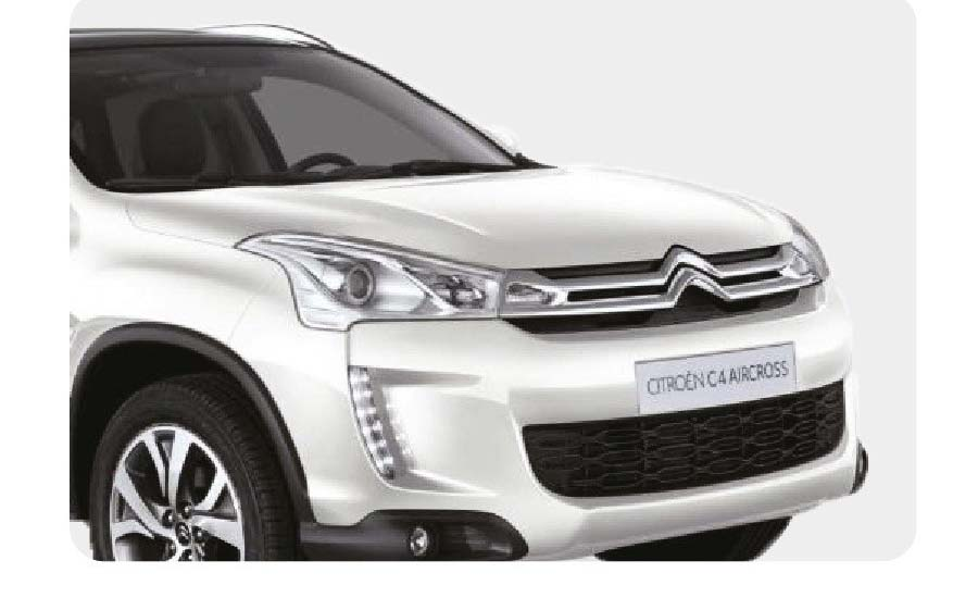 Упоры капота для CITROEN AIR CROSS 2012- (2 амортизатора)