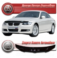 Дефлектор капота BMW 3 coupe (БМВ 3-купе) 2002-