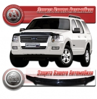 Дефлектор капота FORD EXPLORER IV (Форд-Эксплорер 4) 2005-2010 СА-Пластик