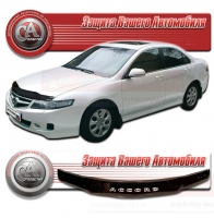 Дефлектор капота HONDA ACCORD VIII (Хонда-Аккорд 8) 2008-2012 СА-Пластик