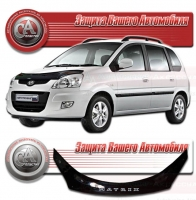 Дефлектор капота HYUNDAI MATRIX (Хендай-Матрикс) 2008- СА-Пластик
