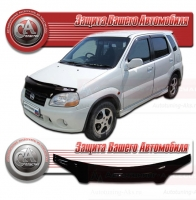Дефлектор капота SUZUKI SWIFT (Сузуки-Свифт) 2000-2004 СА-Пластик