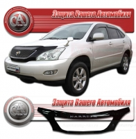 Дефлектор капота TOYOTA HARRIER II (Тойота-Харриер 2) 2003-2009 СА-ПЛАСТИК