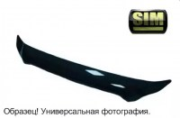Дефлектор капота VW GOLF V 2003-2009 \ JETTA V 2005-2010 (Фольксваген-Гольф 5/ Джетта 5) SIM